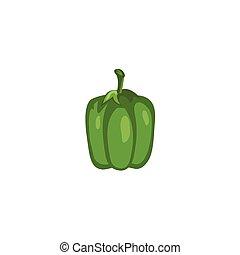Vegetable - Green Bell Pepper - Green Bell Pepper