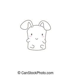 Cute Kawaii Bunny