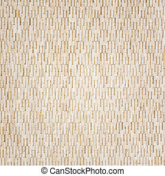 Pattern of yellow travertine wall texture and background