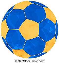 Soccerball - Illustration of the football soccer ball icon