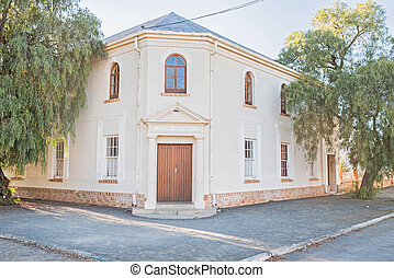 Dutch Reformed Church in Britstown - The hall of the Dutch...