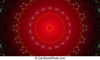 red abstract loop background, light
