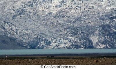 Iceland snowy mountain Landscape