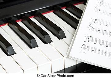Piano, musik