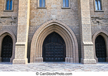 Portal of Roman catholic church - A portal of Roman catholic...