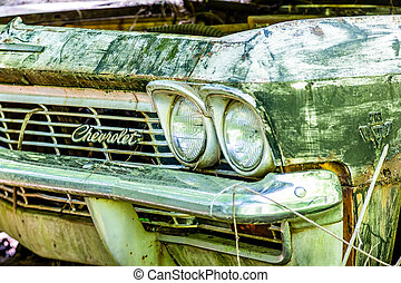 Chevrolet Needs Paint - DETROIT, MICHIGAN - May 11, 2015:...