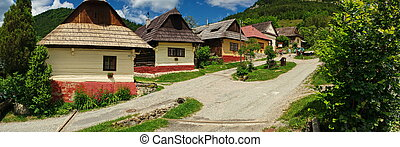 Vlkolinec village, Slovakia UNESCO - Historical Village...