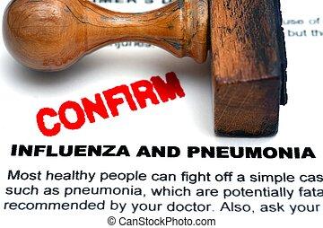 pneumonia,  influenza