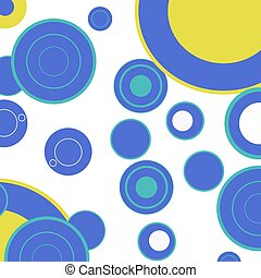 Dotted background different colorful lines