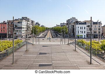 Alley in Antwerp, Belgium