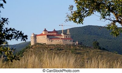 Krasna Horka Castle, Roznava Slovak - Reconstruction work on...