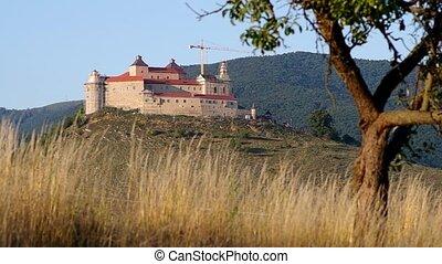 Krasna Horka Castle, Roznava Slovak - Reconstruction work on...