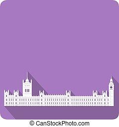 Westminster, vector illustration