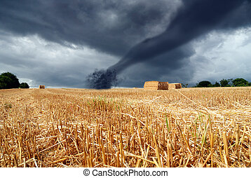 countryside under the storm - nice countryside under the...