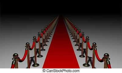 Red Carpet 01 - Endless red carpet. Seamlessly loops.