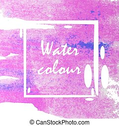 水彩画, 抽象的, 背景
