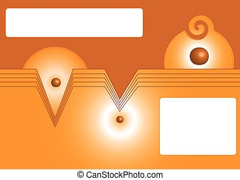 Background vector - Vector background cinnamon in color with...