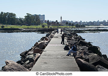 Muelle de Montevideo Buceo
