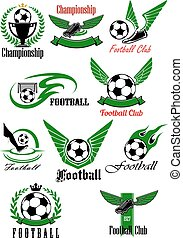 Football and soccer game cions - Football and soccer game...