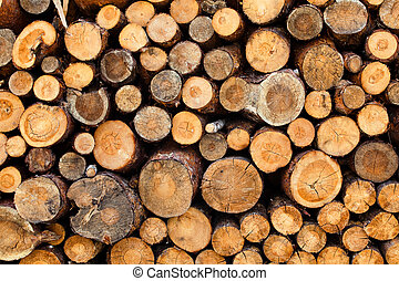 Woodstacks - Woodstack background A lot of pieces firewoods...