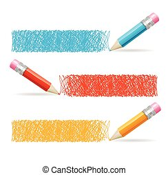 Pencil Drawing Header Vector - Pencil Drawing Header...