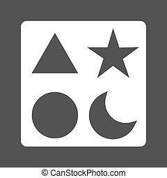 Blocks III - Blocks, toy, building icon vector imageCan also...