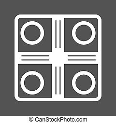 Board Game - Board, game, chess icon vector image.Can also...
