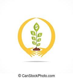 secure money concept design