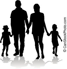 Family silhouetteswy-1