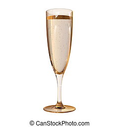 Champagne flute - Image of champagne flute