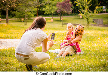 Capturing happy family moments