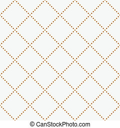 Easy sepia texture - Vector seamless pattern geometric tiles...