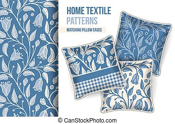 Pattern and set of decorative pillows - Pattern and Set of 3...