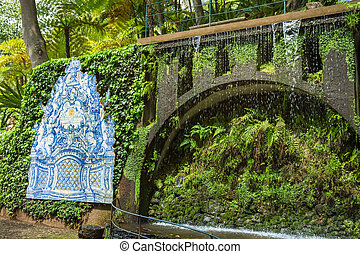 Monte Palace Tropical Garden. Funchal, Madeira Island, Portugal