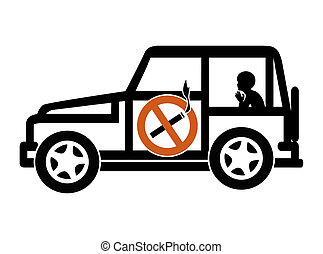 Ban Smoking in Cars with Minors - Smoking in private...