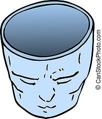imaginative face - Creative design of imaginative face