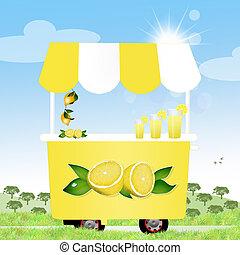 lemonade - illustration of lemonade
