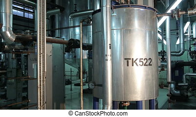 Metal Circular Tanks in Manufacturing of Vegetable Oils. The...