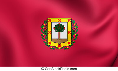Flag of Biscay Province, Spain. - 3D Flag of Biscay...