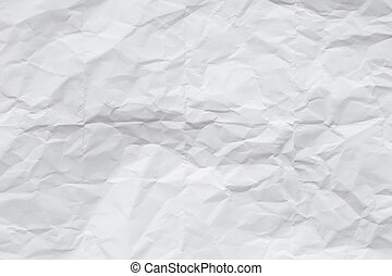 paper crumpled sheet texture and background