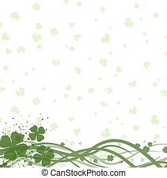 St Patricks day background - St patricks day background with...