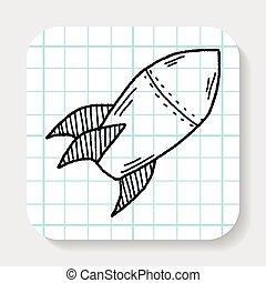 Missile doodle