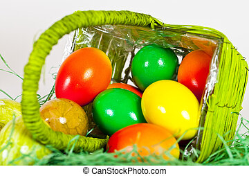 eastereggs - Some Colorfoul Easter Eggs did fall out of a...