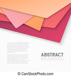 Abstract Textured Paper Tile Style Background - Illustration...