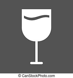 Goblet, glass, wine icon vector image Can also be used for...