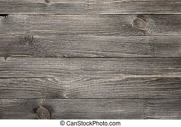 Weathered wood background - Natural knotted gray weathered...