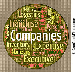 Companies Word Means Company Commerce And Trade
