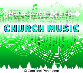 Church Music Shows Place Of Worship And Acoustic - Church...