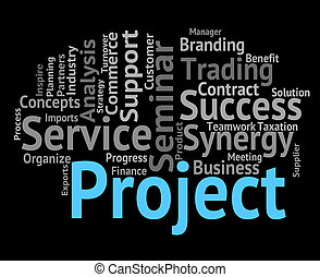 Project Word Means Activity Tasks And Scheme - Project Word...