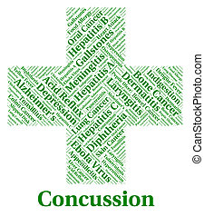 Concussion Illness Means Lose Consciousness And Affliction -...